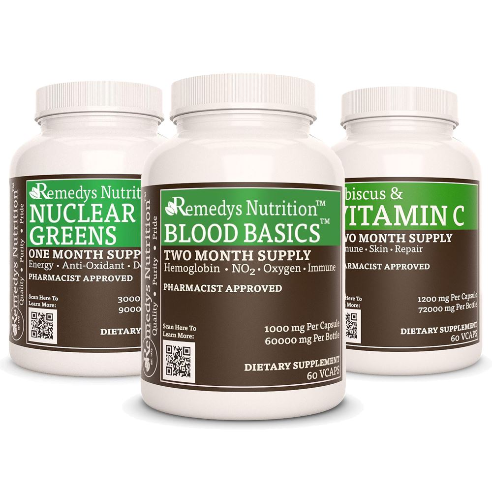 Blood Building Power Pack™ Power Pack Remedy's Nutrition