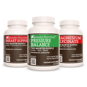 Blood Pressure Power Pack Power Pack Remedy's Nutrition