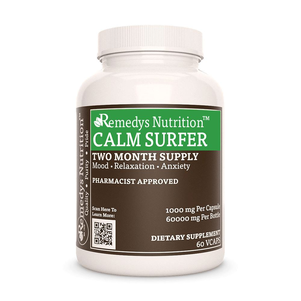 Calm Surfer™ Supplement Remedys Nutrition