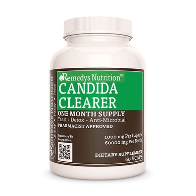 Candida Clearer Supplement Remedys Nutrition