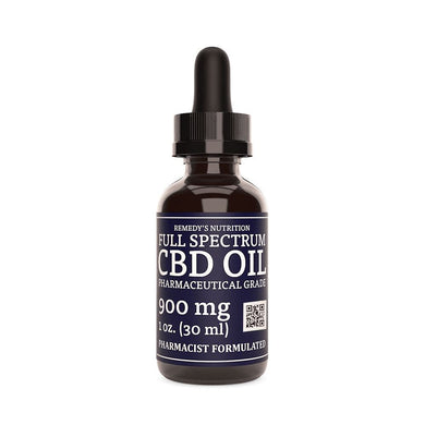 CBD 900 mg FULL SPECTRUM Supplement Remedy's Nutrition