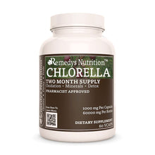 Load image into Gallery viewer, Chlorella (Chlorella Pyrenoidosa) Supplement Remedys Nutrition