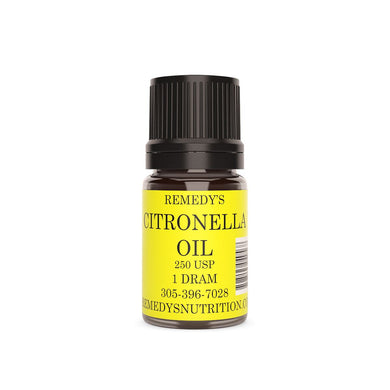 CITRONELLA Oil 1.5 Dram Personal Care Remedy's Nutrition