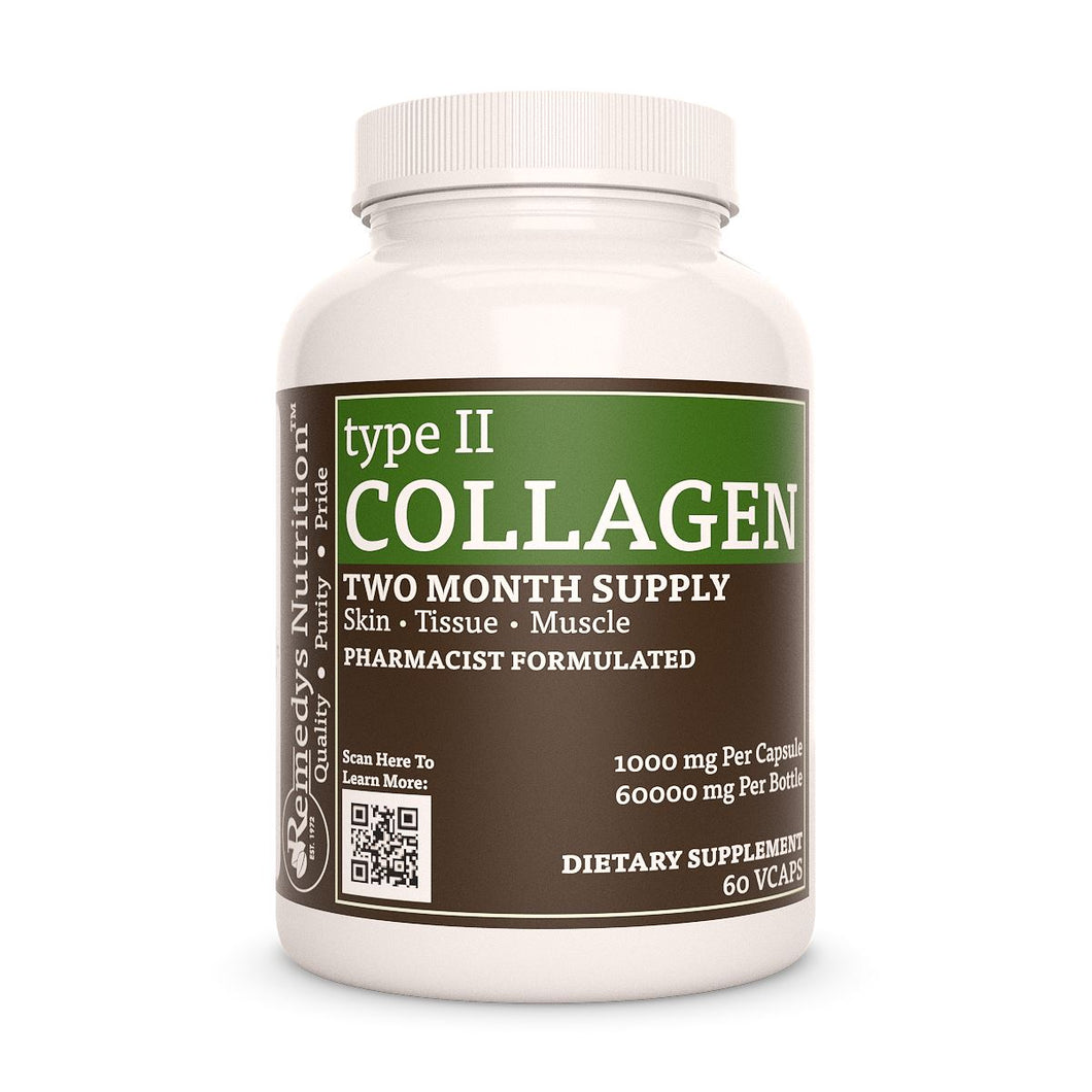 Collagen II Supplement Remedys Nutrition