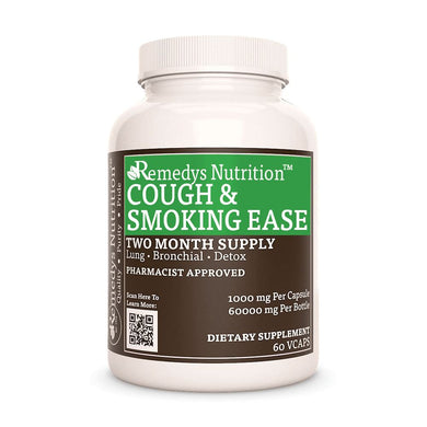 Cough and Smoking Ease™ Supplement Remedys Nutrition