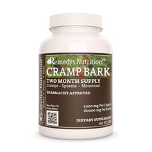 Load image into Gallery viewer, Cramp Bark Supplement Remedy's Nutrition