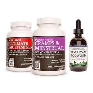 Cramps & PMS Power Pack Power Pack Remedys Nutrition