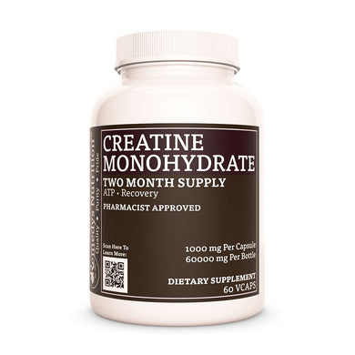 Creatine Monohydrate (Check Supplement Facts Box for a List of Organic Ingredients) Supplement Remedys Nutrition