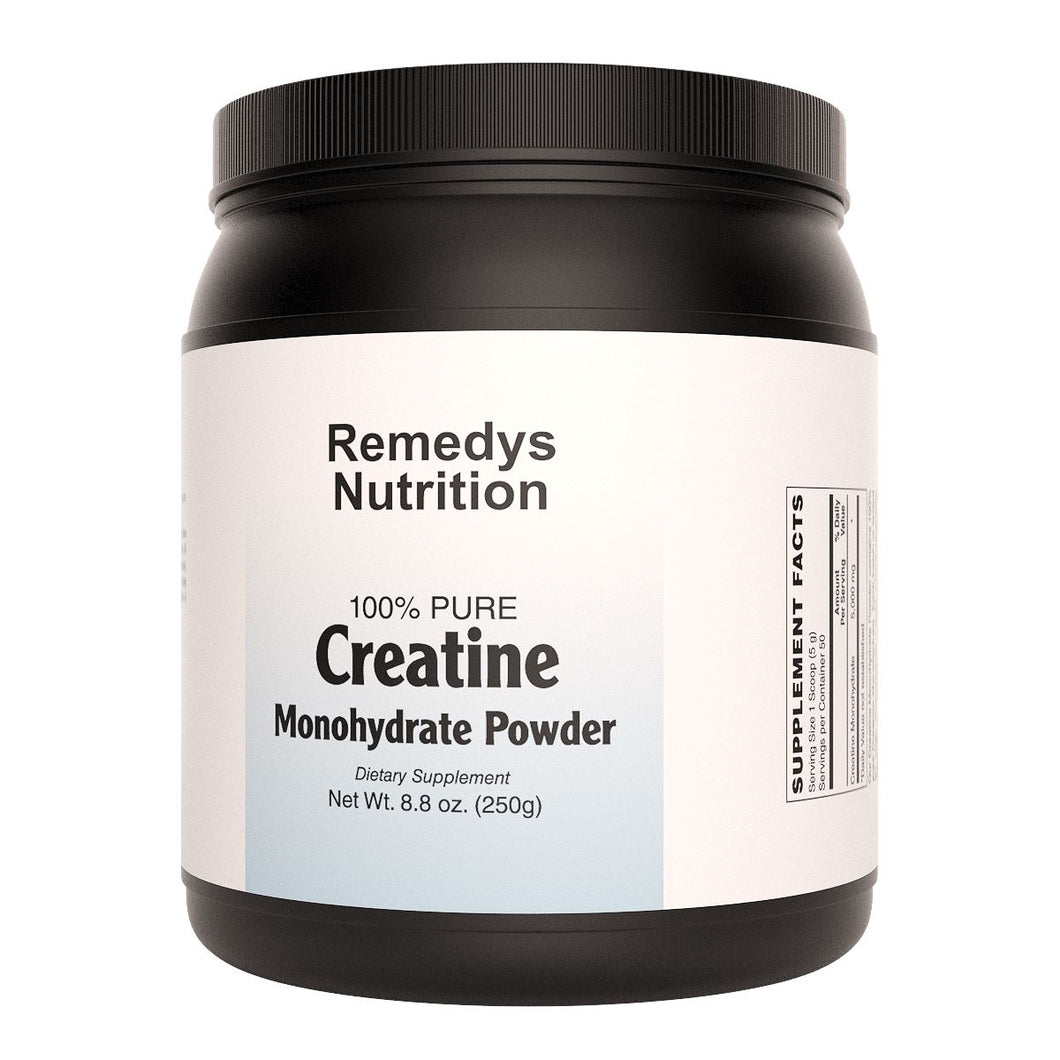 Creatine Monohydrate Powder (Check Supplement Facts Box for a List of Organic Ingredients) Other Remedy's Nutrition