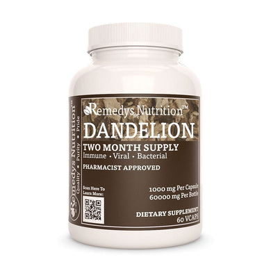 Dandelion Root Supplement Remedys Nutrition