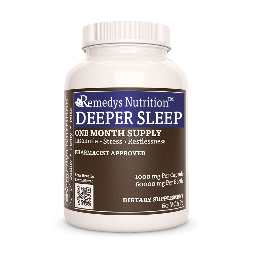 Remedy's Nutrition® Deeper Sleep™ Capsules