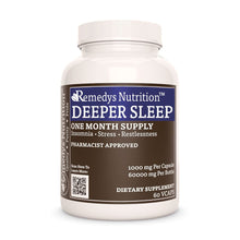 Load image into Gallery viewer, Deep Sleep Caps™ Supplement Remedy's Nutrition