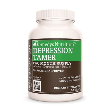 Depression Tamer™ Supplement Remedys Nutrition