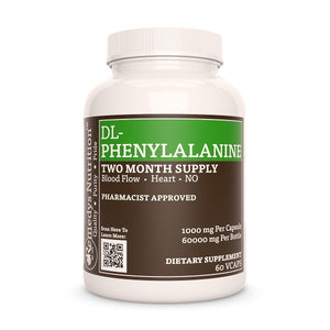 DL-Phenylalanine (Check Supplement Facts Box for a List of Organic Ingredients) Supplement Remedy's Nutrition