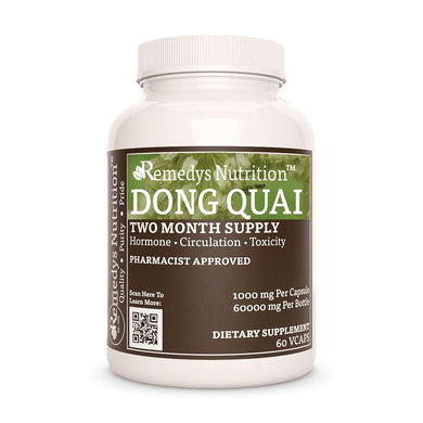 Dong Quai Supplement Remedy's Nutrition