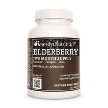 Load image into Gallery viewer, Elderberry (Sambucus nigra) Supplement Remedys Nutrition