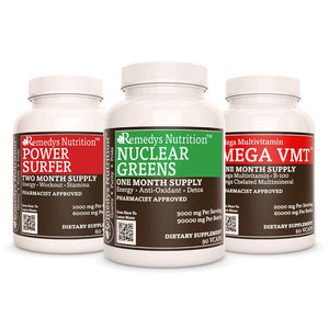 Fatigue Power Pack™ Power Pack Remedy's Nutrition