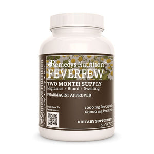 Feverfew Supplement Remedys Nutrition