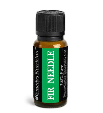 Fir Needle Essential Oil 3 Dram / 10 mL Personal Care Remedy's Nutrition