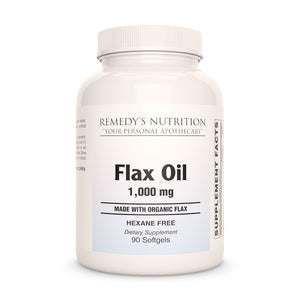 Flax Oil Supplement Remedy's Nutrition