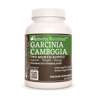 Garcinia Cambogia Supplement Remedy's Nutrition