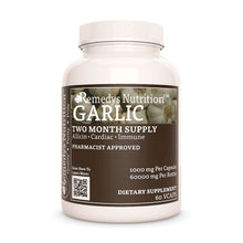 Load image into Gallery viewer, Garlic Supplement Remedy's Nutrition