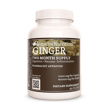 Load image into Gallery viewer, Ginger Root Supplement Remedy's Nutrition