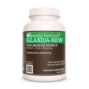 Gland-Ja-New™ Supplement Remedy's Nutrition