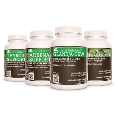 Glandular Health Power Pack Power Pack Remedy's Nutrition