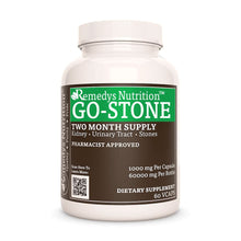 Load image into Gallery viewer, Go Stone Supplement Remedy's Nutrition