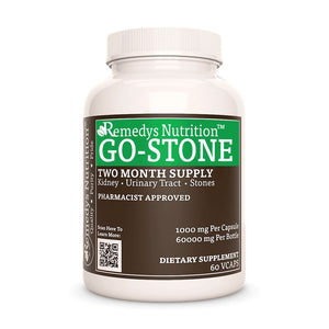Go Stone Supplement Remedy's Nutrition