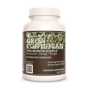 Green Coffee Bean Supplement Remedys Nutrition
