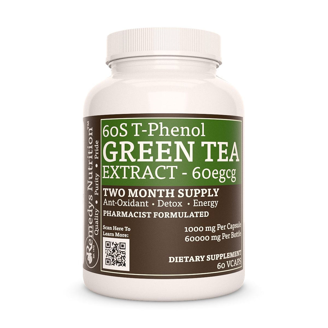 Green Tea Extract (Check Supplement Facts Box for a List of Organic Ingredients) Gift Card Remedy's Nutrition
