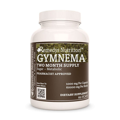 Gymnema Sylvestre Supplement Remedys Nutrition