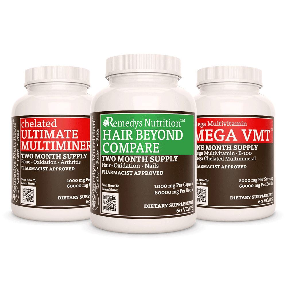 Hair Power Pack Power Pack Remedy's Nutrition