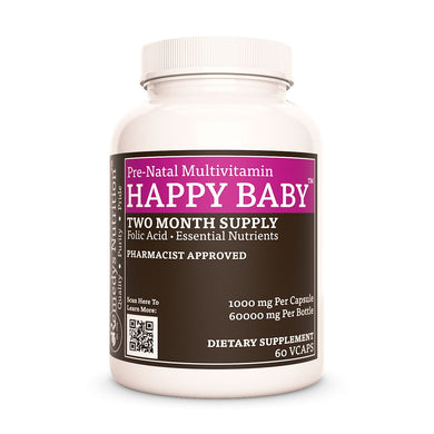 Happy Baby Prenatal Vitamin (Check Supplement Facts Box for a List of Organic Ingredients) Supplement Remedy's Nutrition