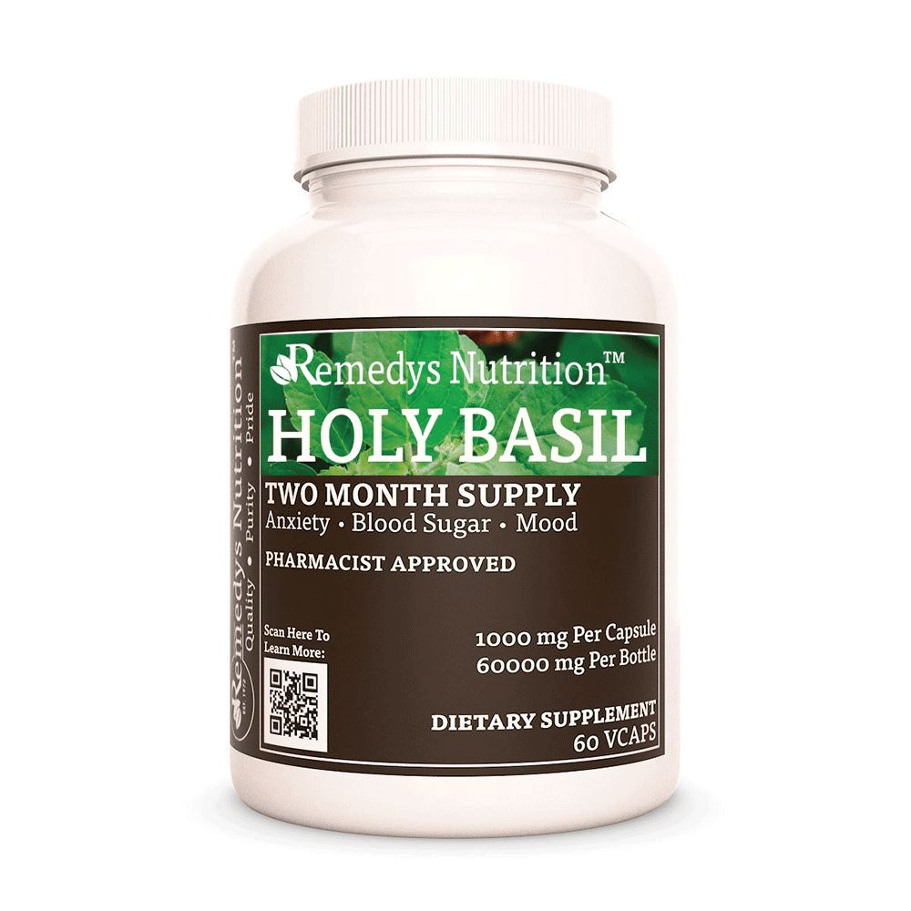 Holy Basil Supplement Remedys Nutrition