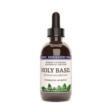 Holy Basil Tincture Supplement Remedy's Nutrition