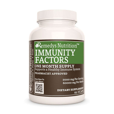 Immunity Factors™ Supplement Remedys Nutrition