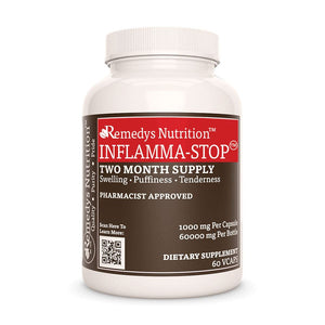 Inflamma-Stop Supplement Remedys Nutrition