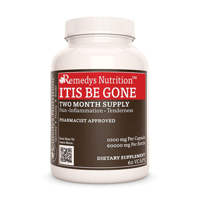 Itis Be Gone™ Supplement Remedy's Nutrition