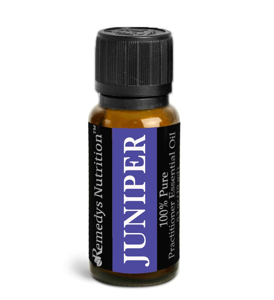 Juniper Berry Essential Oil 3 Dram / 10 mL Personal Care Remedy's Nutrition