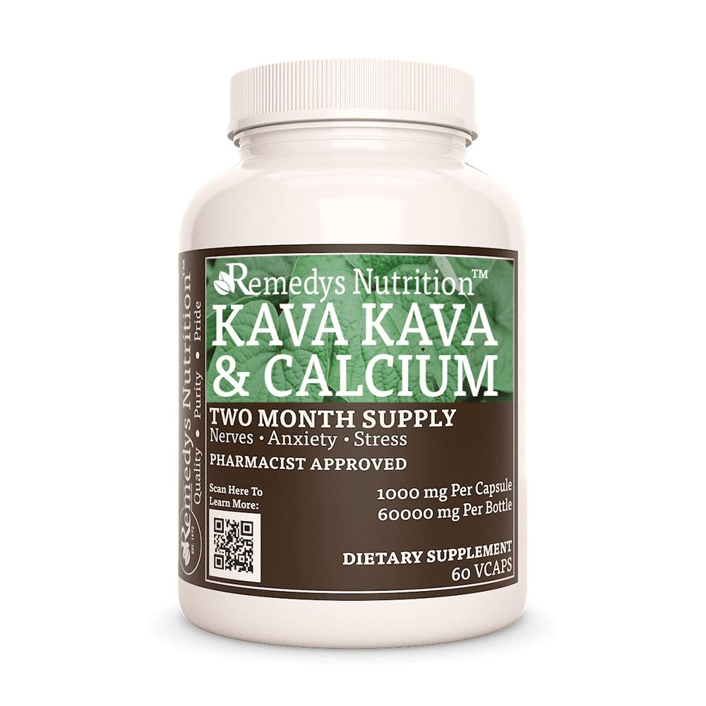Kava Kava Supplement Remedy's Nutrition