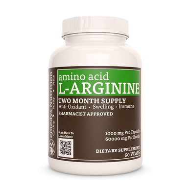 L-Arginine HCL Supplement Remedy's Nutrition