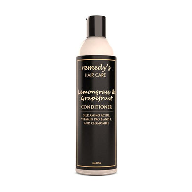 Lemongrass Grapefruit Conditioner Remedy's Nutrition