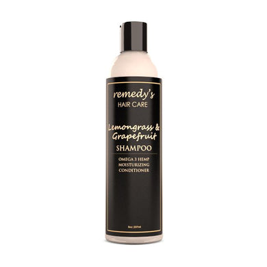 Lemongrass Grapefruit Shampoo Remedy's Nutrition