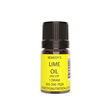 LIME OIL 1.5 DRAM Personal Care Remedy's Nutrition