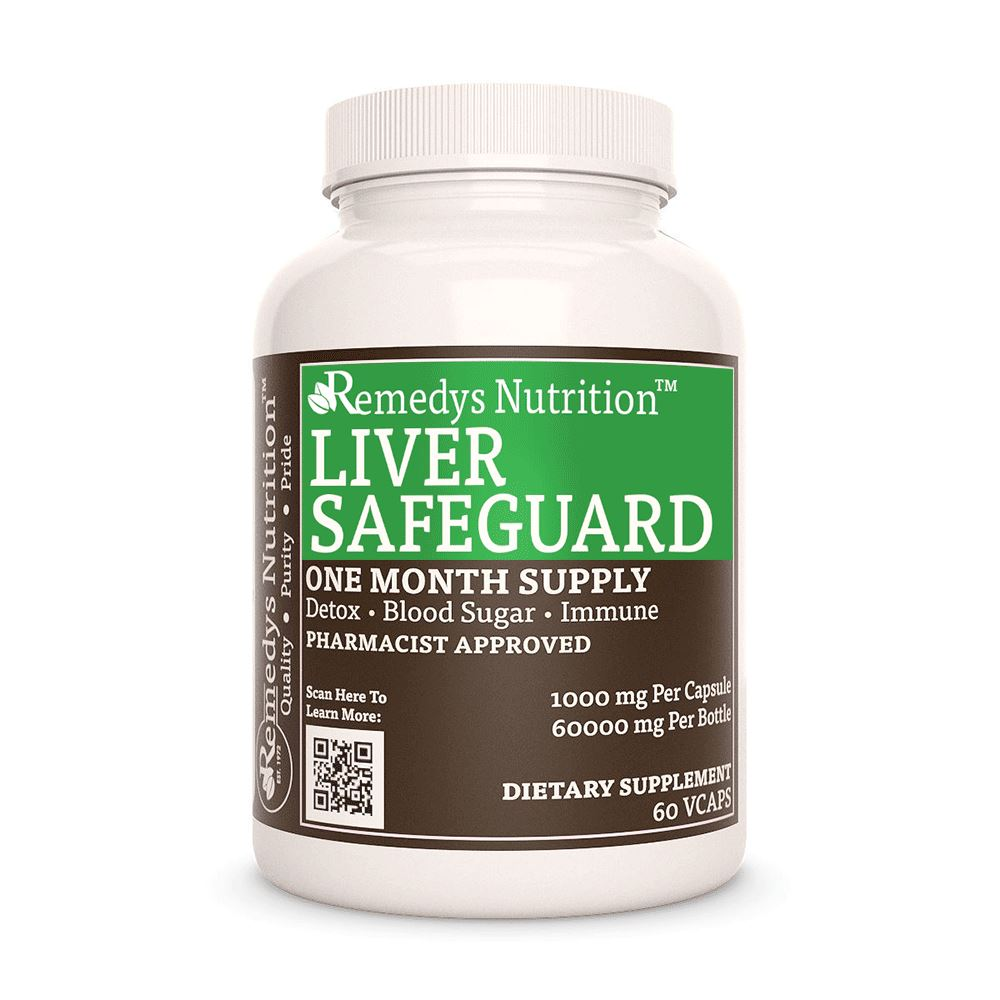Liver Safeguard™ Supplement Remedy's Nutrition