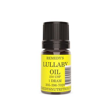 LULLABY OIL 1.5 DRAM Personal Care Remedy's Nutrition