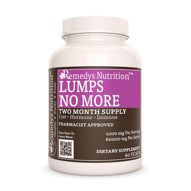 Lumps No More Supplement Remedy's Nutrition